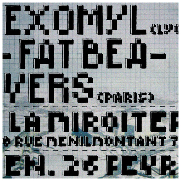 12XU, Lexomyl, Fat Beavers ~ 02/2010 ~ Paris (Fr)