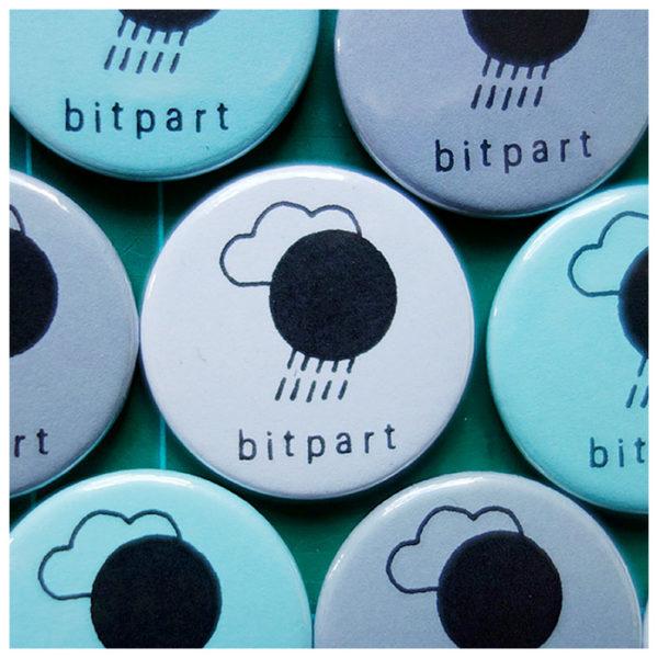 Bitpart ~ Toxic Sun ~ Logotype