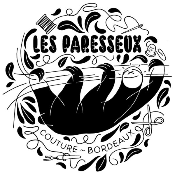 Les Paresseux ~ Couture (Bordeaux, Fr) ~ Logotype