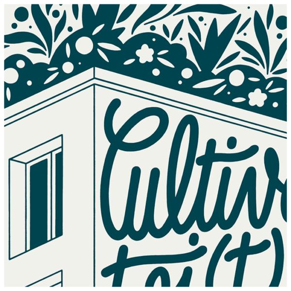 Association Cultive-toi(t) ~ Permaculture sur toit de HLM (Montreuil, Fr) ~ Logotype