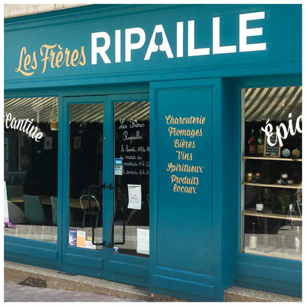 Les Frères Ripaille ~ Bar, cantine et épicerie (Niort, Fr)